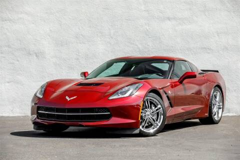 2016 Chevrolet Corvette for sale at Nuvo Trade in Newport Beach CA