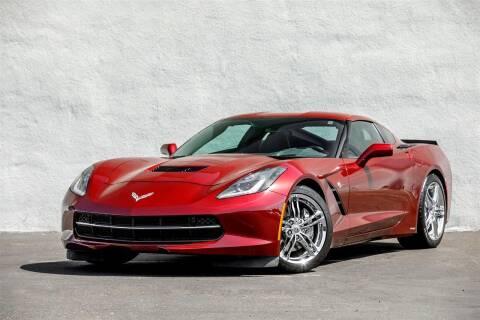 2016 Chevrolet Corvette for sale at Nuvo Trade in Newport Beach CA