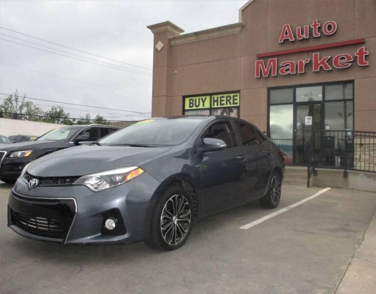 2015 Toyota Corolla for sale at Auto Market in Oklahoma City OK