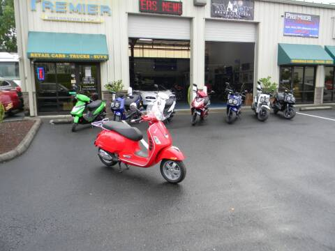 2008 Vespa GTS250ie for sale at PREMIER MOTORSPORTS in Vancouver WA