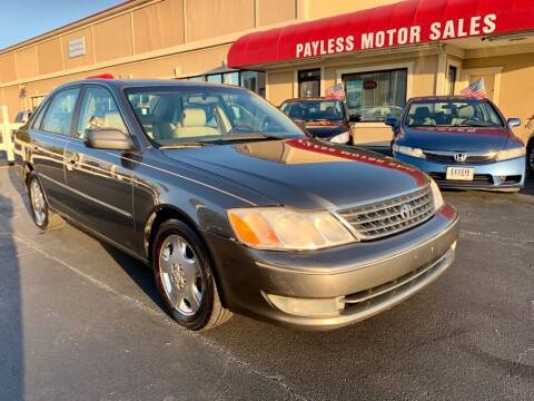 2004 Toyota Avalon for sale at Payless Motor Sales LLC in Burlington NC
