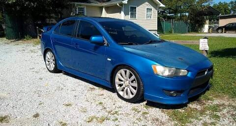2009 Mitsubishi Lancer for sale at Dealmakers Auto Sales in Lithia Springs GA