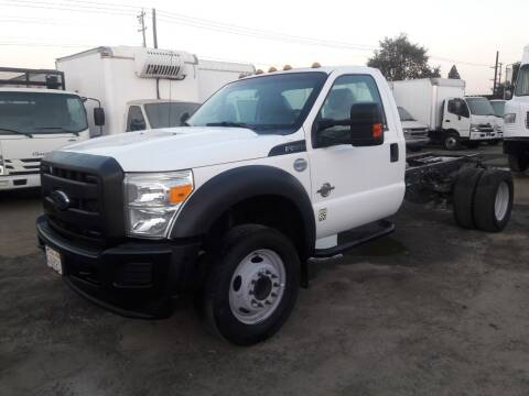 2014 Ford F-550 Super Duty for sale at DOABA Motors in San Jose CA