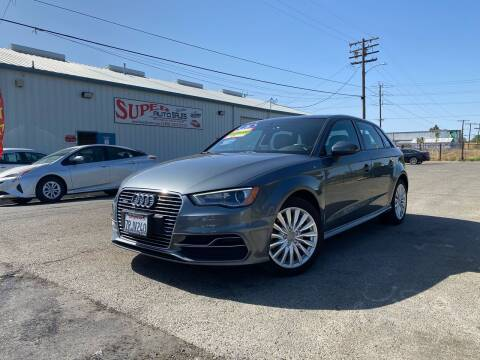 2016 Audi A3 Sportback e-tron for sale at SUPER AUTO SALES STOCKTON in Stockton CA