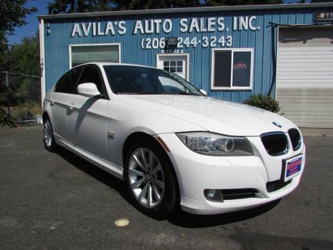 2011 BMW 3 Series for sale at Avilas Auto Sales Inc in Burien WA