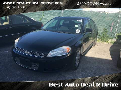 2014 Chevrolet Impala Limited for sale at Best Auto Deal N Drive in Hollywood FL