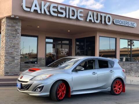 2012 Mazda MAZDASPEED3 for sale at Lakeside Auto Brokers in Colorado Springs CO