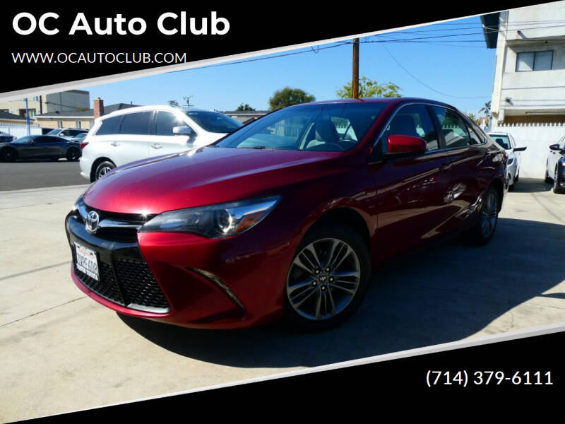 2017 Toyota Camry for sale at OC Auto Club in Midway City CA