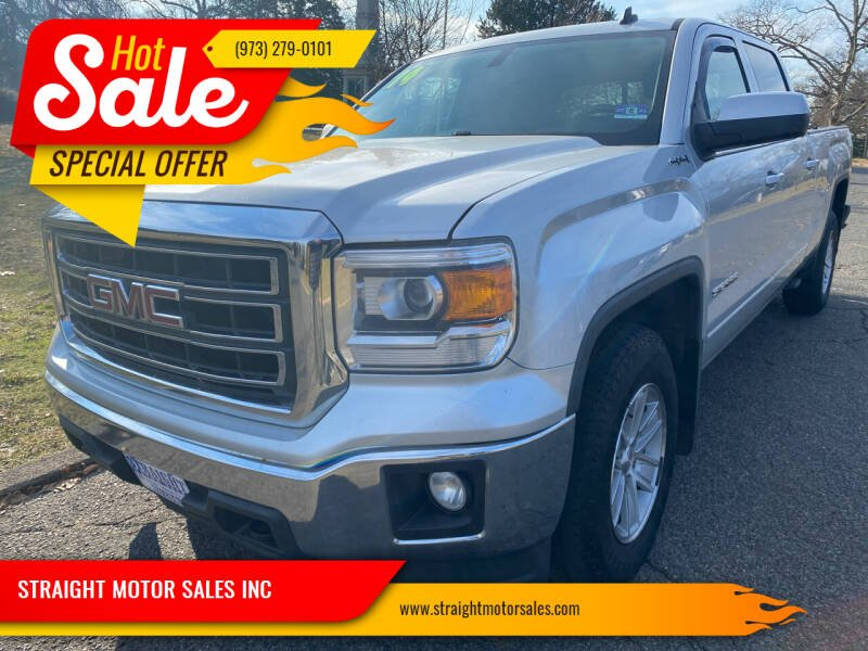 2014 GMC Sierra 1500 for sale at STRAIGHT MOTOR SALES INC in Paterson NJ