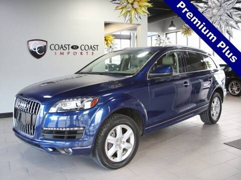 2015 Audi Q7 for sale at Coast to Coast Imports in Fishers IN