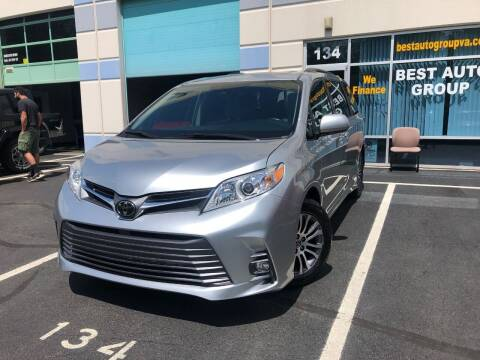 2019 Toyota Sienna for sale at Best Auto Group in Chantilly VA