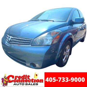 2009 Nissan Quest for sale at Credit Connection Auto Sales in Midwest City OK