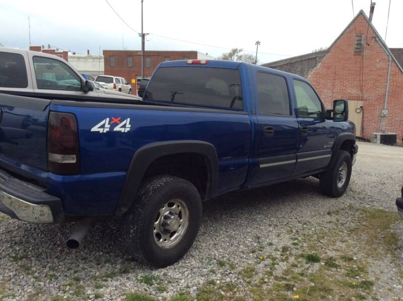 2003 Chevrolet Silverado 2500HD for sale at VAN'S ENTERPRISES in Cameron MO