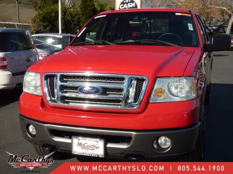 2008 Ford F-150 for sale at McCarthy Wholesale in San Luis Obispo CA