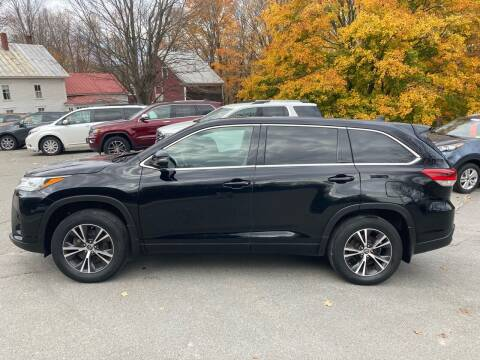 2017 Toyota Highlander for sale at MICHAEL MOTORS in Farmington ME