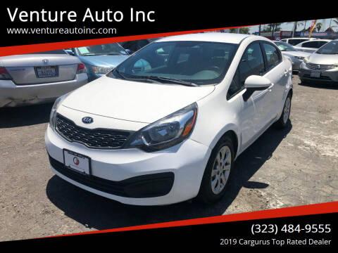 2014 Kia Rio for sale at Venture Auto Inc in South Gate CA