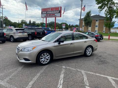 2017 Subaru Legacy for sale at Christy Motors in Crystal MN