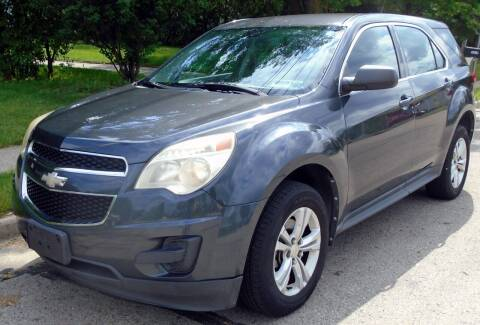 2010 Chevrolet Equinox for sale at Waukeshas Best Used Cars in Waukesha WI