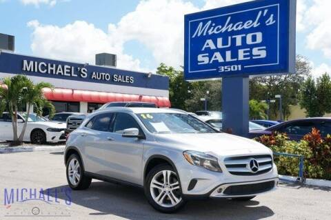 2016 Mercedes-Benz GLA for sale at Michael's Auto Sales Corp in Hollywood FL