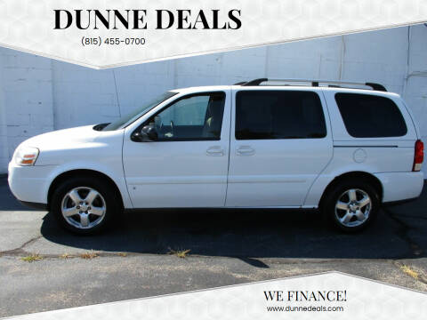 2008 Chevrolet Uplander for sale at Dunne Deals in Crystal Lake IL