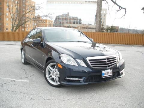 2012 Mercedes-Benz E-Class for sale at Autobahn Motors USA in Kansas City MO