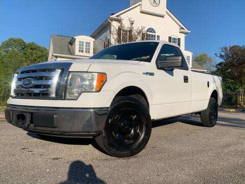 2009 Ford F-150 for sale at JES Auto Sales LLC in Fairburn GA
