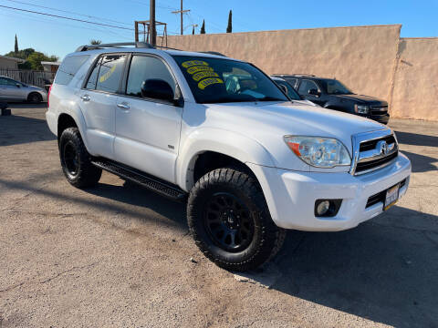 2007 Toyota 4Runner for sale at JR'S AUTO SALES in Pacoima CA