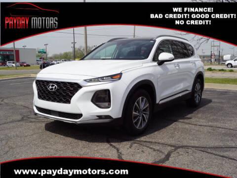 2020 Hyundai Santa Fe for sale at Payday Motors in Wichita KS