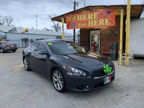 2011 Nissan Maxima for sale at ASHE AUTO SALES, LLC. - ASHE AUTO SALES in Dallas TX
