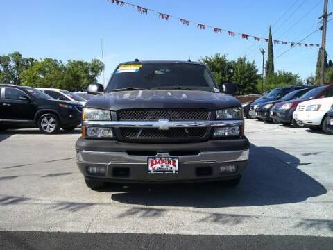 2005 Chevrolet Silverado 1500 for sale at Empire Auto Sales in Modesto CA