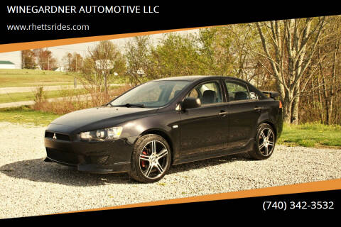 2008 Mitsubishi Lancer for sale at WINEGARDNER AUTOMOTIVE LLC in New Lexington OH