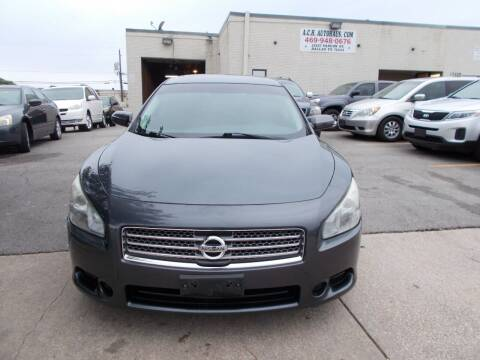 2011 Nissan Maxima for sale at ACH AutoHaus in Dallas TX
