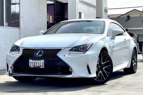 2016 Lexus RC 350 for sale at Fastrack Auto Inc in Rosemead CA