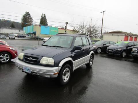 2000 Suzuki Grand Vitara for sale at ARISTA CAR COMPANY LLC in Portland OR