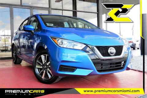 2021 Nissan Versa for sale at Premium Cars of Miami in Miami FL