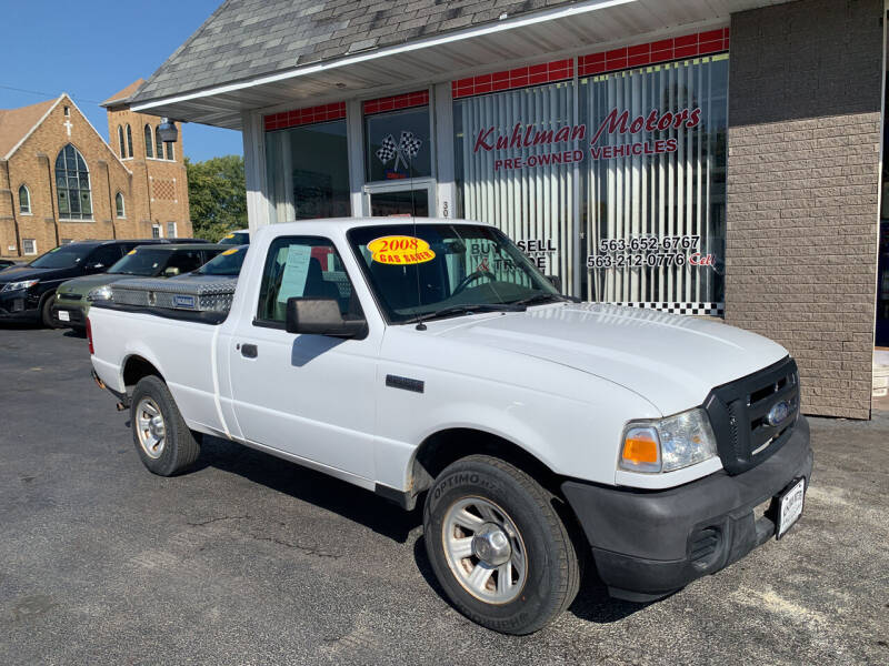 2008 Ford Ranger for sale at KUHLMAN MOTORS in Maquoketa IA