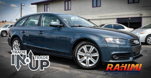 2011 Audi A4 for sale at Rahimi Automotive Group in Yuma AZ