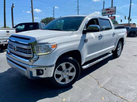 2015 Toyota Tundra for sale at Lux Auto in Lawrenceville GA