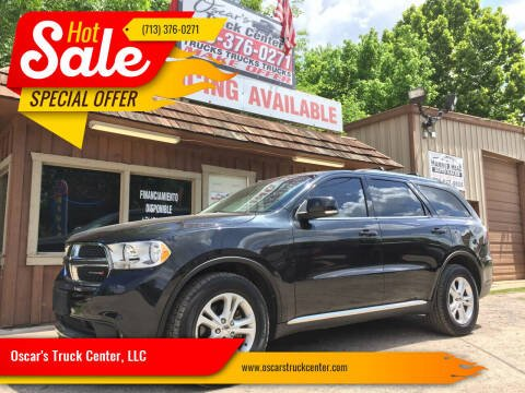 2012 Dodge Durango for sale at Oscar's Truck Center, LLC in Houston TX
