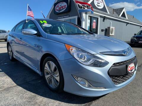 2014 Hyundai Sonata Hybrid for sale at Cape Cod Carz in Hyannis MA