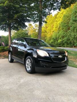 2012 Chevrolet Equinox for sale at Judy's Cars in Lenoir NC