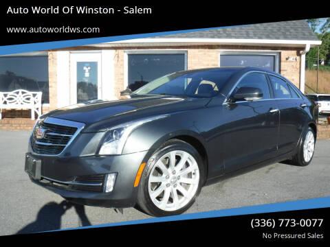 2018 Cadillac ATS for sale at Auto World Of Winston - Salem in Winston Salem NC
