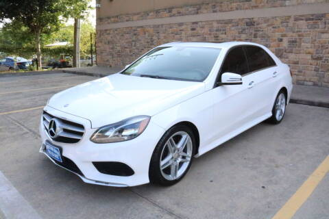 2014 Mercedes-Benz E-Class for sale at Direct One Auto in Houston TX