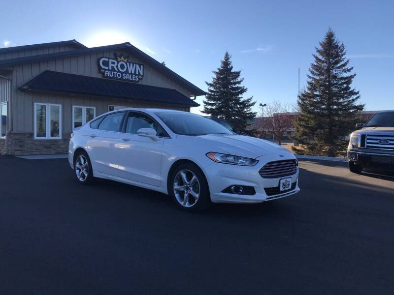 2016 Ford Fusion for sale at Crown Motor Inc in Grand Forks ND