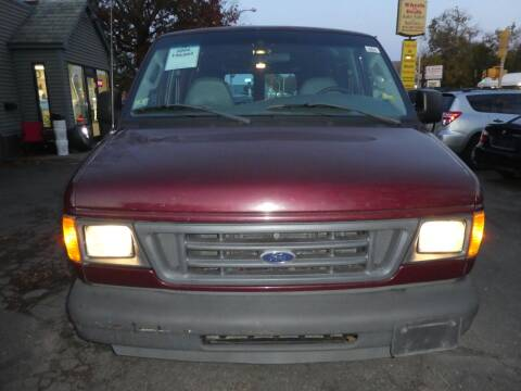 2004 Ford E-Series Cargo for sale at Wheels and Deals in Springfield MA