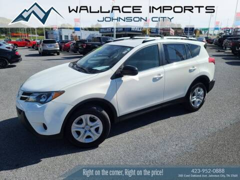 2015 Toyota RAV4 for sale at WALLACE IMPORTS OF JOHNSON CITY in Johnson City TN