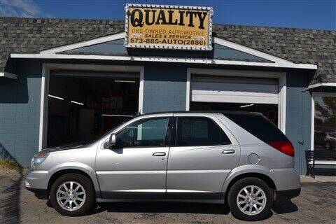 2006 Buick Rendezvous for sale at Quality Pre-Owned Automotive in Cuba MO