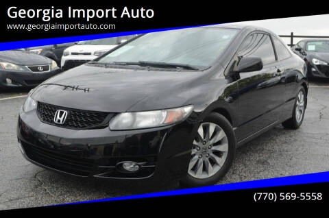 2010 Honda Civic for sale at Georgia Import Auto in Alpharetta GA