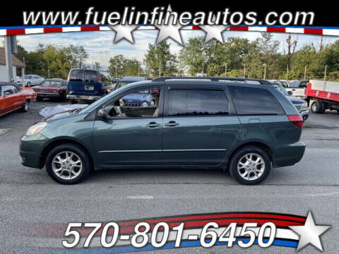 2005 Toyota Sienna for sale at FUELIN FINE AUTO SALES INC in Saylorsburg PA