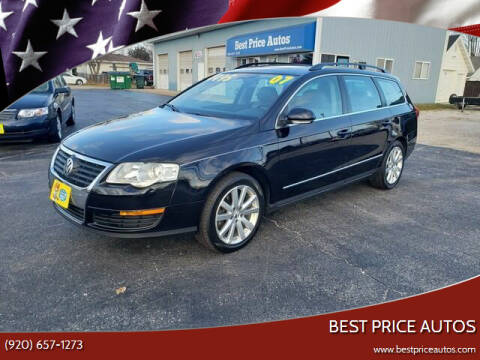 2007 Volkswagen Passat for sale at Best Price Autos in Two Rivers WI